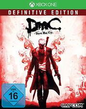 DmC - Devil May Cry -- Definitive Edition (Microsoft Xbox One, 2015, DVD-Box)