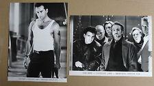 (T177) 10x US Pressefoto DIE HARD 1988 Bruce Willis / Alan Rickman