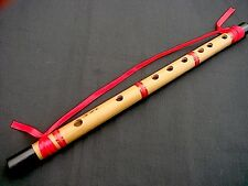 SINGLE CHINESE FENG SHUI BAMBOO HANGING FLUTE FOR GOOD RELATIONSHIP HARMONY a10