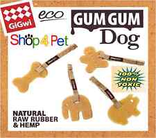 Commissioned By Ancol, GiGwi Gum Gum Natural Raw Rubber Dog Chew, 100% Non Toxic