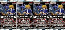 YuGiOh! Legendary Collection 4 Mega-Pack New and Sealed YuGiOh Booster Packs x4