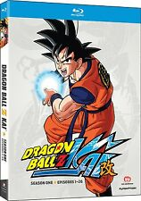 Dragon Ball Z Kai Dragonball Z Kai Season 1 One (Blu-ray, 4-Disc) FAST SHIPPING!