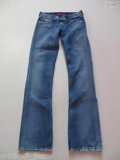 Levi's® 557 Eve SQUARE-CUT Jeans Hose W 28 /L 36, TOP ! Faded Denim Extra LANG !