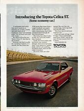 Toyota 11 print ads Time Sports Illustrated 1971-1973