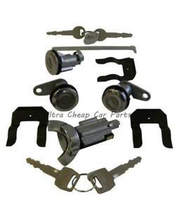 Ignition Barrel Door Locks Boot Lock Set For Ford XY XA XB Falcon Fairmont GT