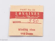 Longines Genuine Material Stem Part 32 for Longines Cal. 380