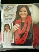 NOS Vtg Coronation Yarn Crochet It Yourself Bicentennial American Flag Kit