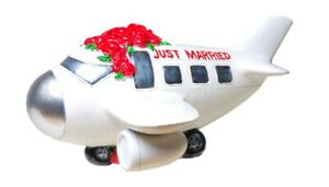 Piggy Bank Wedding Aircraft Just Married 19 CM Money Bank