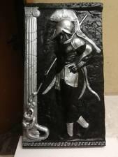 Relief Griechische Krieger Gipsstuck Groß Wandrelief Skulptur Greek Bild Antik