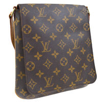 LOUIS VUITTON MUSETTE SALSA LONG SHOULDER BAG MONOGRAM M51387 A46523c