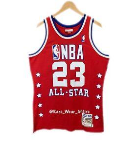 Michael Jordan Mitchell & Ness 1989 All Star Nba Jersey Size 40 Bulls