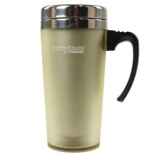 Thermos Thermocafe 420ml Old Chalk Soft Touch Double Walled Thermal Travel Mug