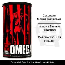 Universal Animal Omega 30 Packs Essential EFA Stack OMEGA 3 Fish Oil EPA DHA