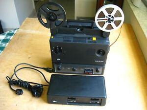Braun 100 Super 8MM Projector, Will Travenon 16.5-30m, f/1.2 lens, Nizo Beaulieu