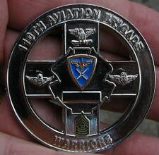 "Challenge coin, 110th Aviation Brigade "" Warriors "" nice (LOC  J5 coin box)"