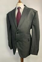 BNWT MENS MOSS DEHAVILLAND DARK GREY BUTTON UP SMART SUIT JACKET BLAZER 52 S
