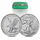 Roll of 20 - 2021 1 oz Silver American Eagle $1 Coin BU Type 2 (Lot, Tube of 20) <br/> Bullion Exchanges - Your Trusted Precious Metals Dealer