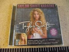 Taylor Swift Karaoke [CD/DVD 2009, 2 Discs] BMRATS0130.   Contemporary Counry