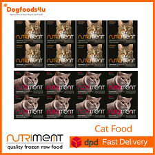 Nutriment Raw cat food complete balanced formula for Cats - Beef and Chichen 8kg