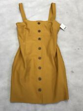 Womens Fashion Urban Outfitters Dress Medium Yellow BNWT 3/7 K