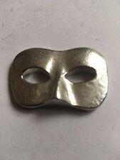 Male Masquerade Mask TG232 Pewter Fridge / office desk Magnet memo magnet fancy