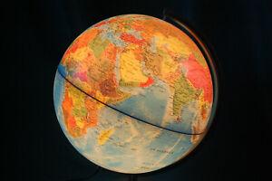 Globus beleuchtet, 30cm, Beleuchteter Globus, Kinder Globus