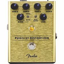 Genuine Fender Pugilist Distortion Electric Guitar Stomp Box Effects Pedal