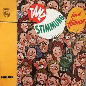 TANZ, STIMMUNG UND HUMOR: Die Wikinger / Die Rübenbauern (EP Philips 430 003 PE)