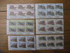 NEW ZEALAND 1984 EARLY TRAMS &CABLE CAR SET IMPRINT BLOCKS NHM SG 1360/5