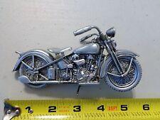 Vintage Harley Davidson Knucklehead picture note holder WLA Panhead JD JL VL EL