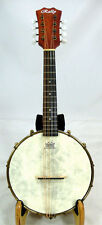 Rally Banjo mandolin, quality mahogany , rosewood, open geared tuner DMB-1