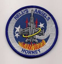 USMC VMFA-321 HELL'S ANGELS HORNET patch F/A-18 HORNET FIGHTER ATTACK SQN