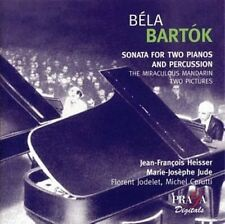Bartok: Sonata for Two Pianos & Percussion etc. - Heisser/Jude-Praga hybrid SACD