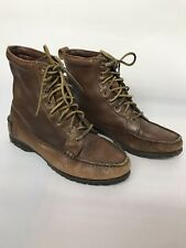 Ladies Timberland Waterproof Ankle Boots Brown CORETEX Size 6.5 Leather Upper