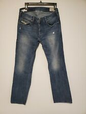 Diesel Zatiny Bootcut Jeans Button Fly Men's Size 29 x 32