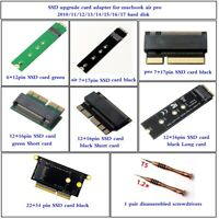 SSD upgrade card adapter for macbook air pro 2010/11/12/13/14/15/16/17 hard disk