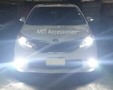TOYOTA SIENNA 2011-2017 H11 LED lights Turbo super light 6000K for FOG Lamp