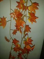 7ft ROSSO/ARANCIO Ivy/Maple Leaf VITI Vivarium piante/Decorazione