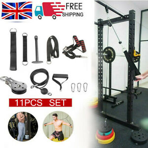 Body Fitness Pulley Cable System Lifting Machine Tricep Training Weights Workout