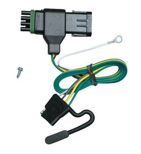 Trailer Wiring Harness For 88-00 GMC C/K 1500 2500 3500 (Except 88-91 Crew Cab)