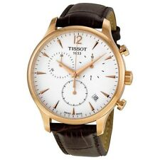 Tissot Tradition Classic Chronograph Rose Gold-plated Men's Watch T0636173603700