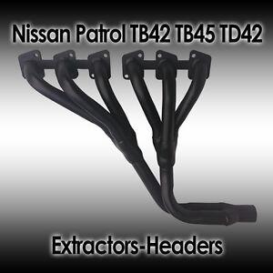 Nissan Patrol GQ-GU, TB42 TB45 Petrol TD42 Diesel, 1988-2002 Extractors/Headers