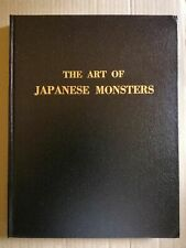 THE ART OF JAPANESE MONSTERS - leatherbound edition 4/100 Signed, NEW GODZILLA
