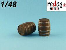Redog 1/48 barrels kit diorama modelling resin stowage beer barrels