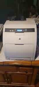 ThriftCHI ~ HP LaserJet 3600DN Workgroup Color Laser Printer Tested, Functional