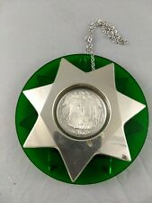 Franklin Mint 1974 Sterling Silver Christmas Ornament
