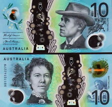 AUSTRALIA - 10 Dollars 2017 Polymer FDS UNC