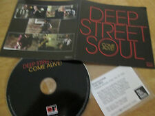 Deep Street Soul ‎– Come Alive!  UK 10 Track CD Album Promo 2016