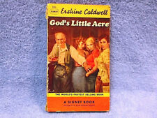 """""""God's Little Acre"""" Paperback Novel by Erskine Caldwell - FREE SHIPPING"""