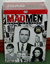 MAD MEN-SERIE COMPLETA-1-7 TEMPORADAS COMPLETAS-30 DVD-NUEVO-PRECINTADO-SEALED